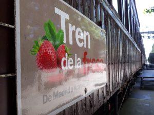 EL TREN DE LA FRESA @ Principe Pio - Aranjuez, Madrid